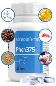 Phen 375 : les ingrédients d'un comprimé coupe faim efficace