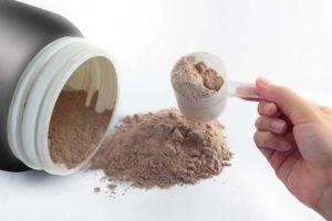 Régime hyperprotéiné avec poudre